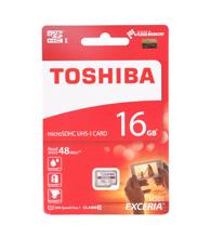 Thẻ nhớ MicroSDHC Toshiba Exceria 16GB 48MB/s